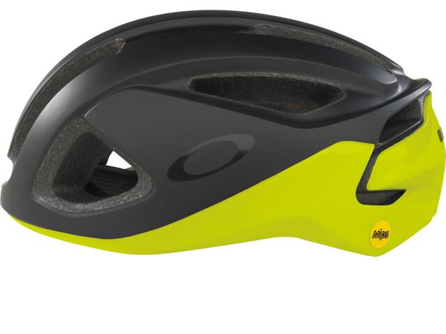 Oakley ARO3 Kask rowerowy żółty/czarny